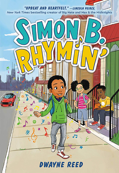 Dwayne Reed - Simon B Rhymin readathon