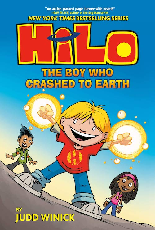 Hilo Book 1- The Boy Who Crashed to Earth
