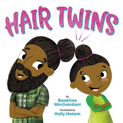 Raakhee Mirchandani - hair twins