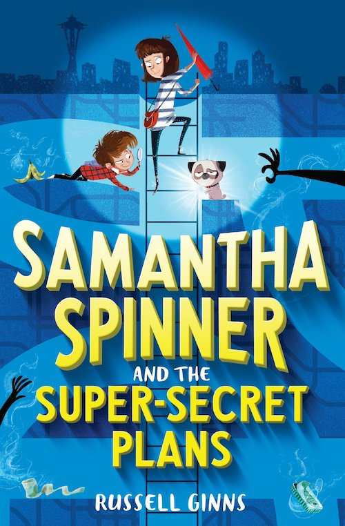 Samantha Spinner and the Super Secret Plans
